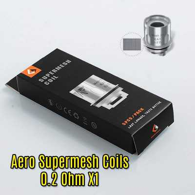 Geek Vape - Aero Supermesh 0.2 Ohm X1 Coils (Pack of 5)