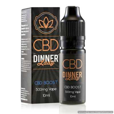 CBD Boost E-Liquid by Dinner Lady 10ml 500mg