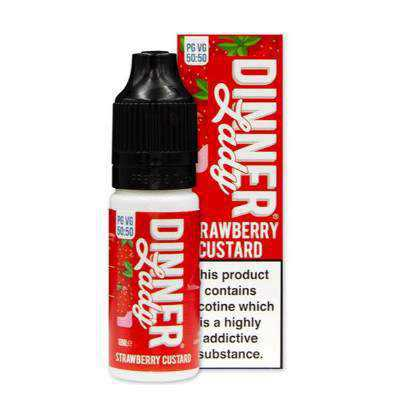Dinner Lady Strawberry Custard 10ml