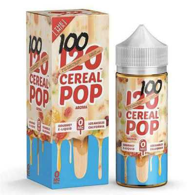 120 Cereal Pop E-Liquid by Mad Hatter Juice 100ml