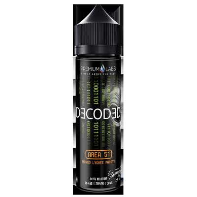 Area 51 E-Liquid by Decoded