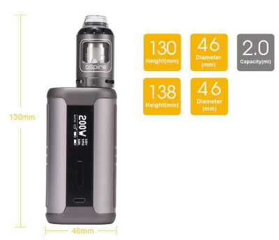 Aspire - Speeder 200W Kit