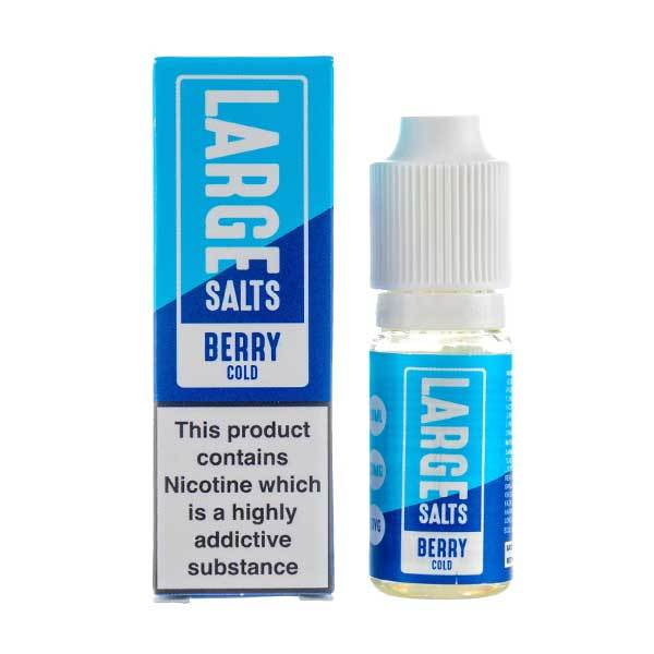 Berry Cold Nic Salt E-Liquid by Large Juice