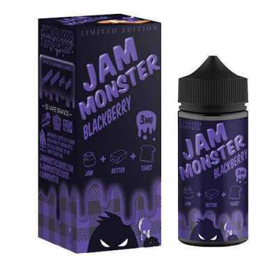 Blackberry E-Liquid by Jam Monster 100ml