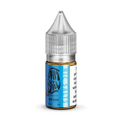 Blue Slush E-Liquid by Ohm Brew 50/50 Nic Salts