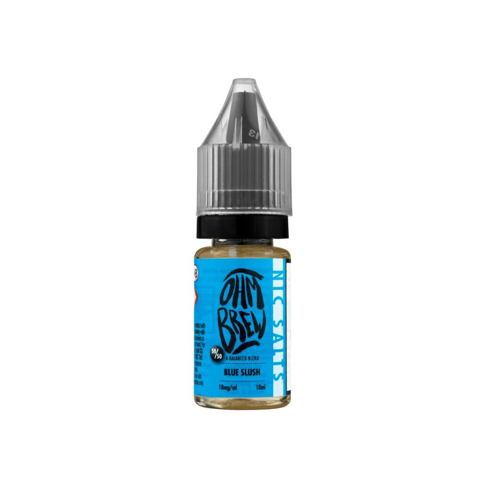 Blue Slush Nic Salt E-Liquid by Ohm Brew