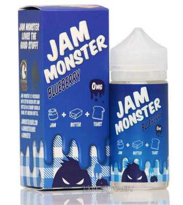 Blueberry E-Liquid by Jam Monster 100ml
