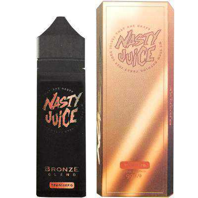 Bronze Blend eLiquid by Nasty Juice Tobacco Series