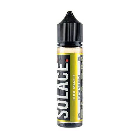 Cool Mango 50ml Shortfill E-Liquid by Solace Black