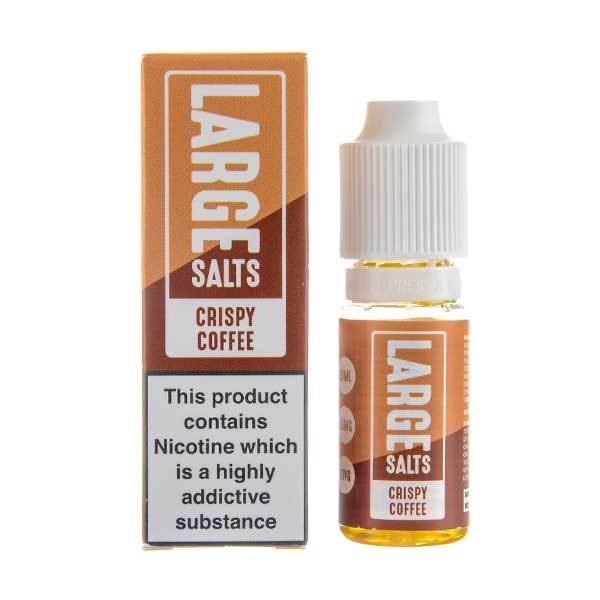 Crispy Coffee Nic Salt E-Liquid by Large Juice