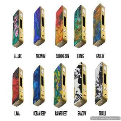 Famovape - Magma 200W Box Mod - Gold Frame Edition