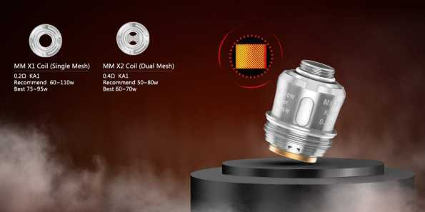 Geek Vape - Mesh Mellow Coils For Alpha Tank - Pack of 3