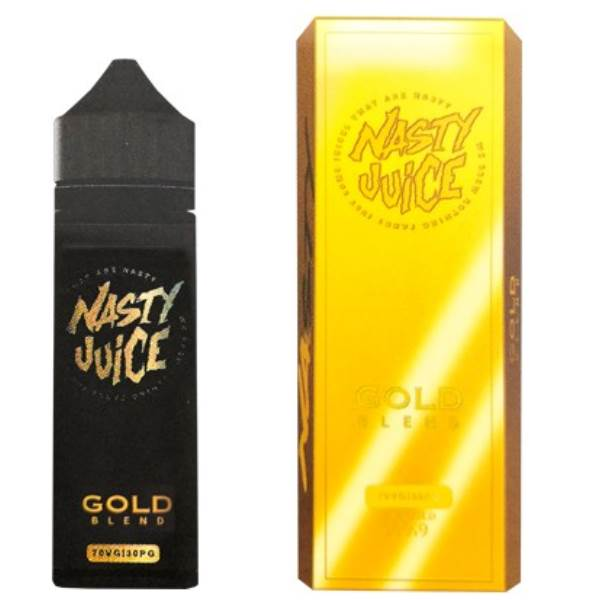 Gold Blend eLiquid by Nasty Juice Tobacco Series