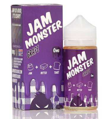Grape E-Liquid by Jam Monster 100ml