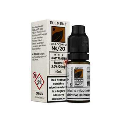 NS20 + NS10 Honey Roast Tobacco E-Liquid by Element Tobacconist