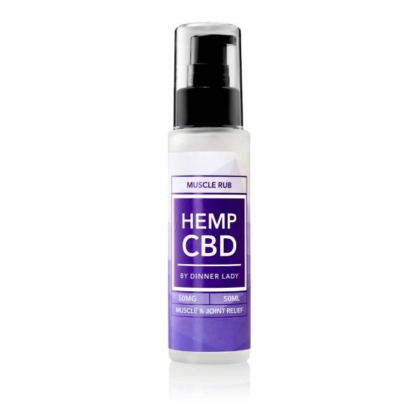 Dinner Lady CBD Muscle Rub