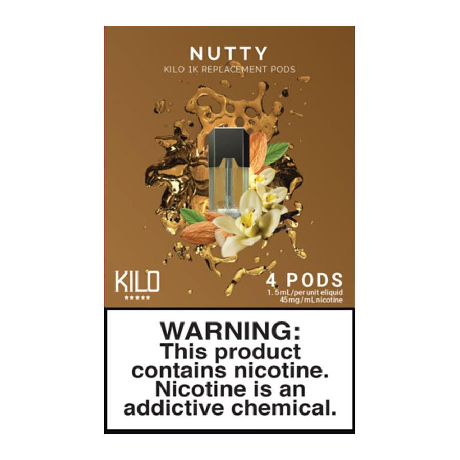 Nutty E-Liquid Pod by Kilo 1K