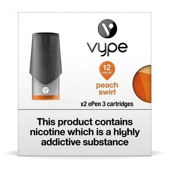 Peach Swirl ePen 3 Pod by Vype