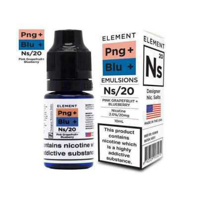 NS20 + NS10 Pink Grapefruit + Blueberry E-Liquid by Element