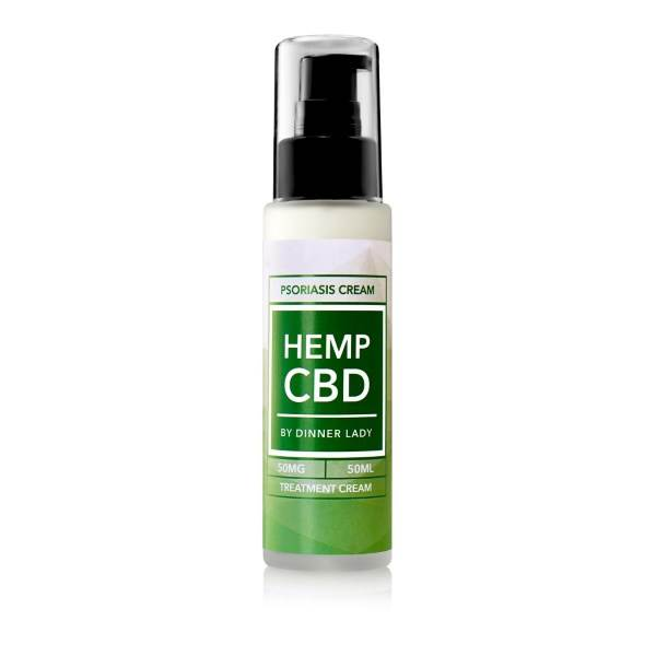 Dinner Lady CBD Psoriasis Treatment Cream