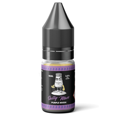 Purple Reign Nic Salt E-Liquid by Solace Salty Man