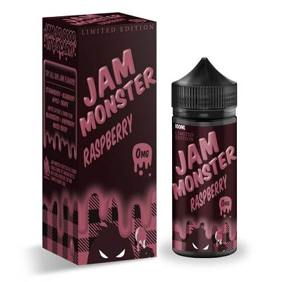 Raspberry E-Liquid by Jam Monster 100ml
