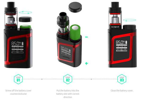 SMOK - AL85 / RHA85 Kit (EU EDITION)