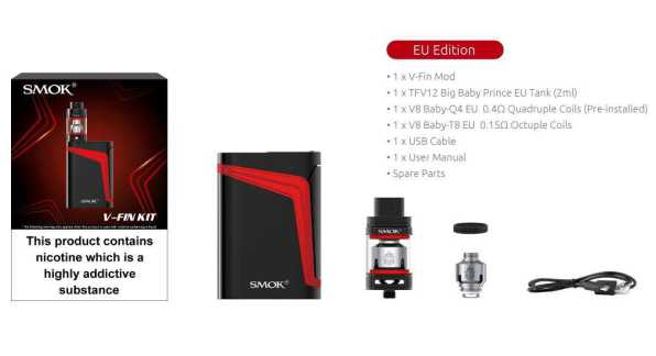 SMOK - V-Fin 8000mAh Kit (EU Edition)