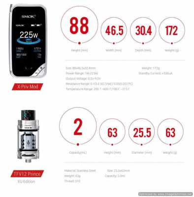 SMOK - X-Priv Kit 225W (EU EDITION)