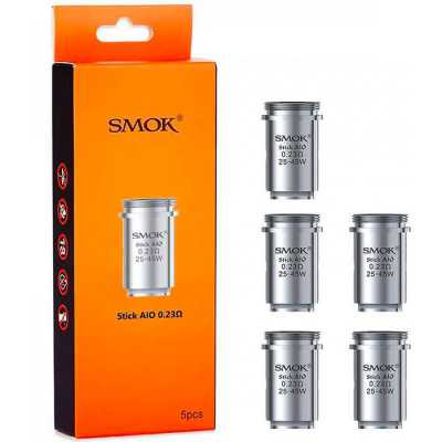 SMOK - Stick AIO Replacement Coils (Stick AIO & Priv One Kit) - Pack of 5