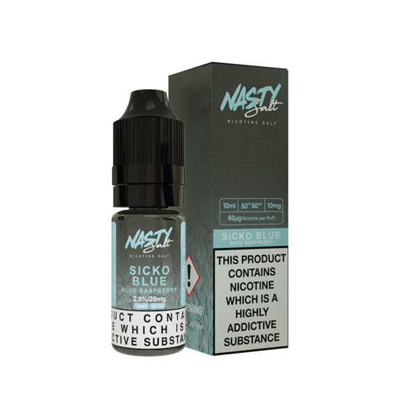 Sicko Blue Nic Salt E-Liquid by Nasty Juice