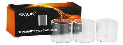 Smok - TFV8 Big Baby Replacement Glass Pyrex - Pack of 3.