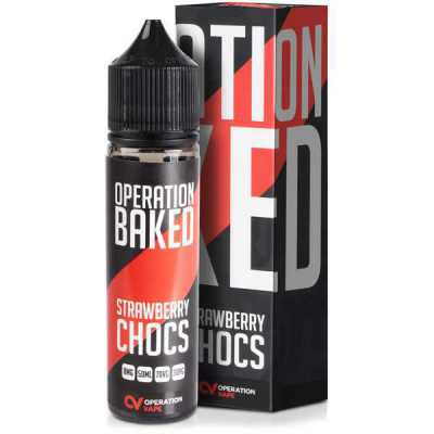 Strawberry Chocs E-Liquid by Operation Baked 50ml