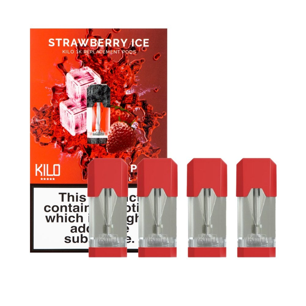 Strawberry Ice E-Liquid Pod by Kilo 1K