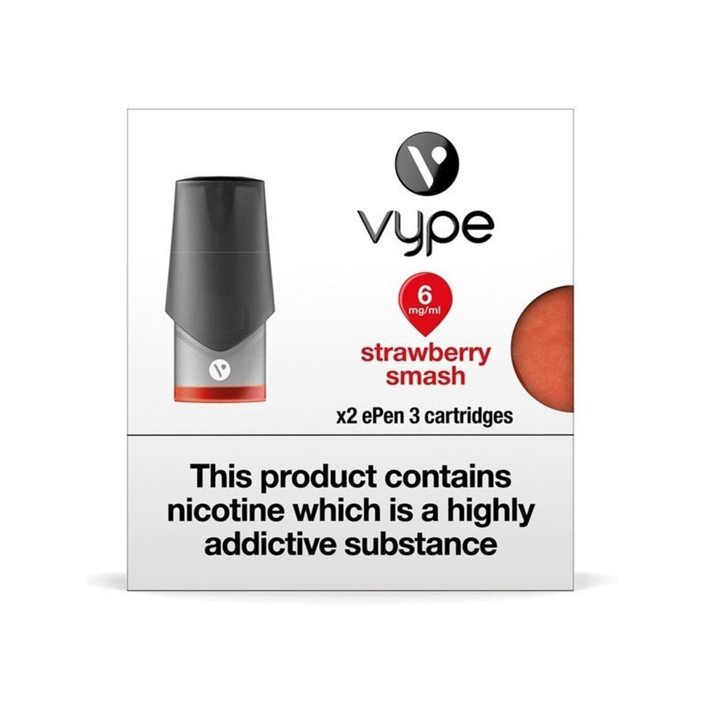 Strawberry Smash ePen 3 Pod by Vype