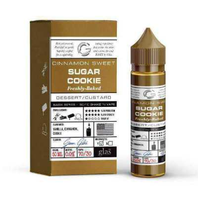 Sugar Cookie E-Liquid by Glas Basix 50ml