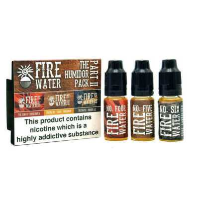 The Humidor Pack E-Liquid by Firewater