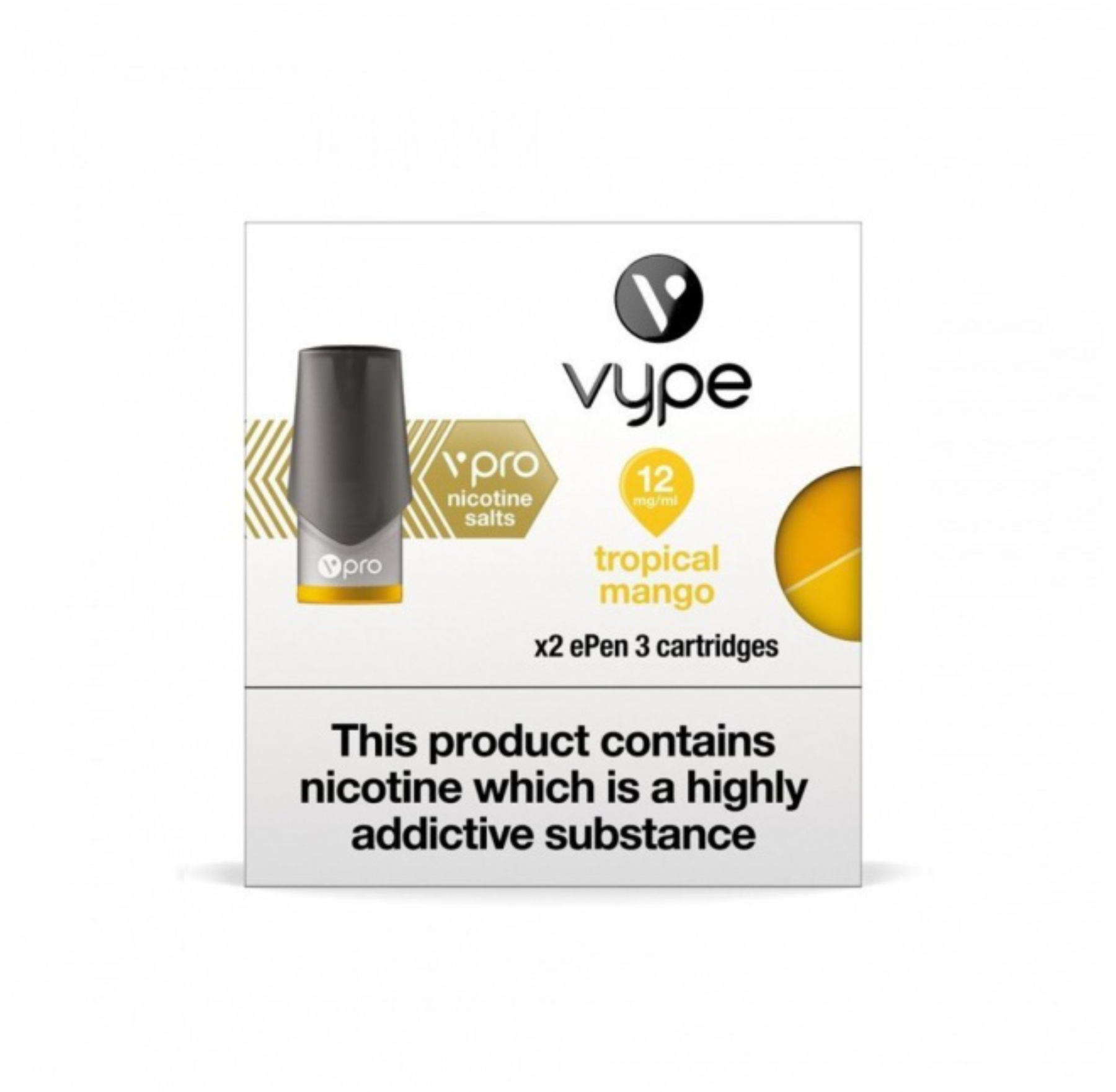 Tropical Mango ePen 3 Nic Salt Pod by Vype