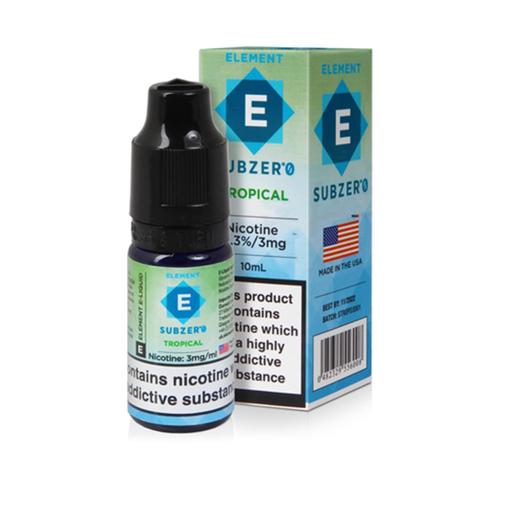 Tropical Nic Salt E-Liquid by Element Subzero