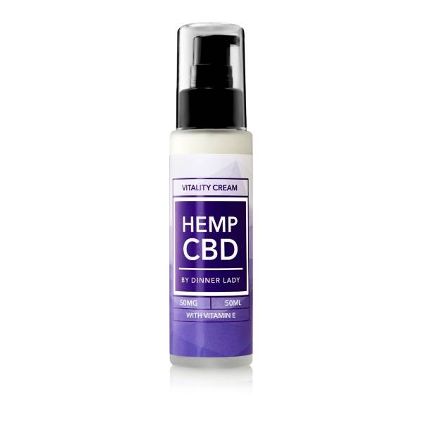 Dinner Lady CBD Vitality Cream