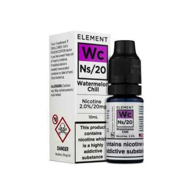 NS20 + NS10 Watermelon Chill E-Liquid by Element