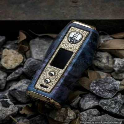 XO VaporTech - SKULL 100W Stab Wood/Resin Box Mod