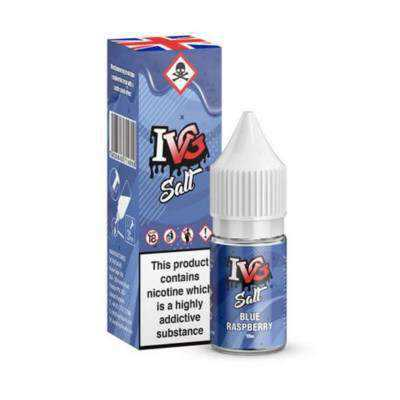 Blue Raspberry E-Liquid by IVG Salts