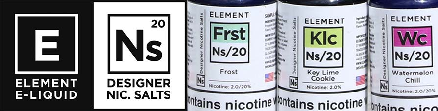 Element Subzero Nic Salts