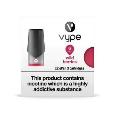 Wild Berries ePen 3 Prefilled Vape Pod by Vype