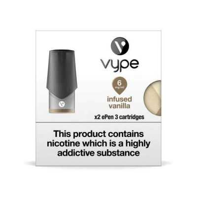 Infused Vanilla ePen 3 Prefilled Vape Pod by Vype