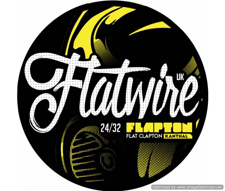 "Flatwire UK - Kanthal ""Flapton"" Wire 10FT"
