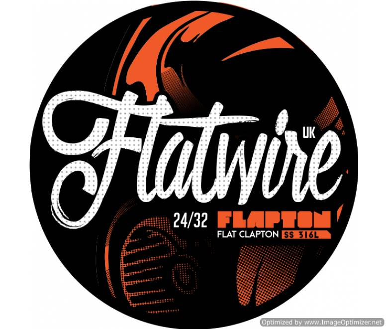 "Flatwire UK - Stainless Steel ""Flapton"" Wire 10FT"