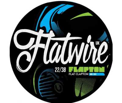 "Flatwire UK - NiChrome 80 ""Flapton"" Coil Wire 10FT"