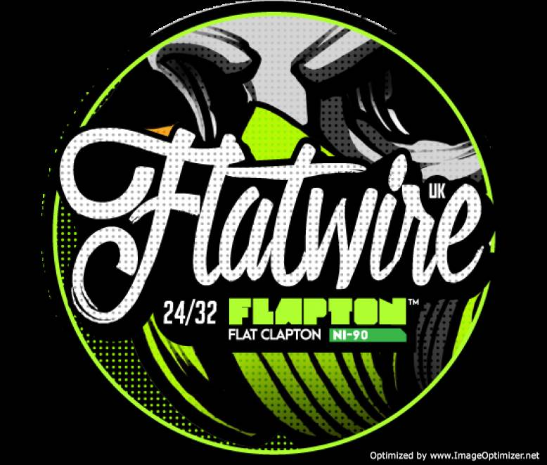 "Flatwire UK - NiChrome 90 ""Flapton"" Coil Wire 10FT"